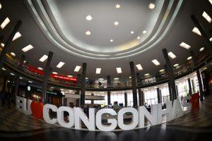 Aeroporto de Congonhas comemora aniversário com apresentação de coral