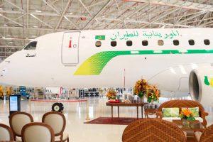 Embraer entrega primeiro E175 para Mauritania Airlines