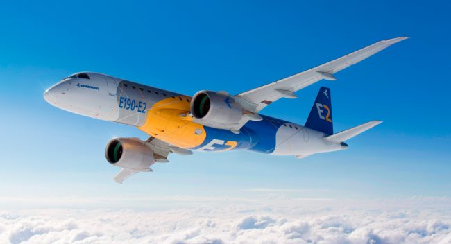 Embraer entrega 14 jatos comerciais e 11 executivos no 1ºtrimestre de 2018