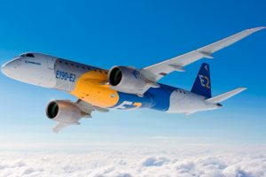 E190-E2, da Embraer, recebe certificações de ANAC, FAA e EASA
