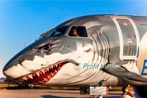 "Jato E190-E2 ""Shark"" finaliza turnê pela África"