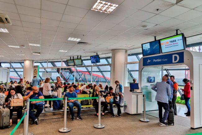 Movimento internacional no Aeroporto de Brasília cresce 18,8% em 2019