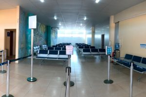 Aeroporto de Parnaíba ganha melhorias na sala de embarque