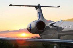 Embraer apresenta configuração de avião semiprivado para jatos ERJ 145 usados