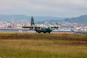 Avión de la FAB