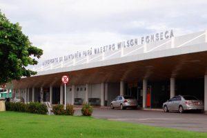 Aeroporto de Santarém realiza manutenção na pista de pousos e decolagens
