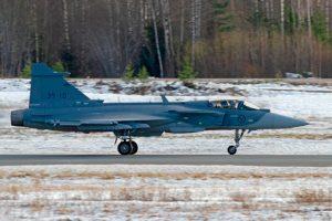 Gripen E e GlobalEye concluem avaliação de voo na Finlândia