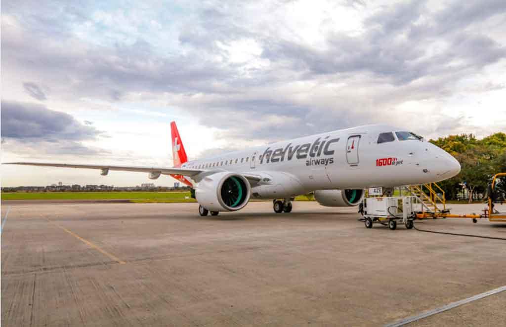 E190-E2, Helvetic, Embraer