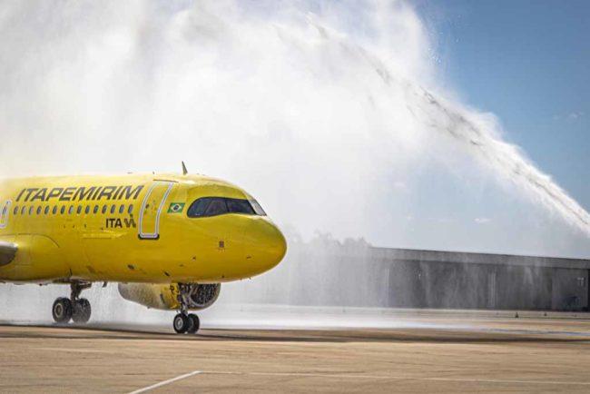 Itapemirim Transportes Aéreos inaugura operações no Aeroporto de Brasília
