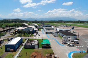 Infraero inicia obras no pátio de aeronaves do Aeroporto de Joinville