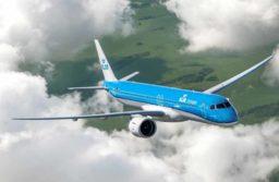 KLM recebe seu primeiro Embraer E2