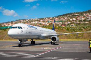 Lufthansa começou a voar da Madeira para Munique a 31 de março de 2018