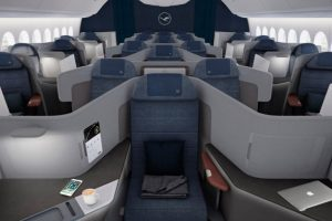 Lufthansa apresenta sua nova Classe Executiva