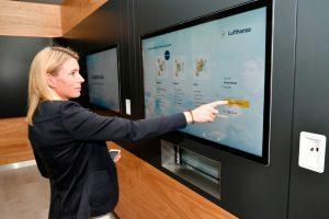 Caixas gourmet de alta qualidade para passageiros da Lufthansa com direito de acesso à lounge