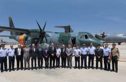 Brasil recebe primeira aeronave Airbus C295 para busca e resgate