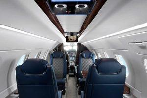 Embraer Faz Début do Phenom 300E na EBACE, o jato leve executivo mais entregue no mundo pelos últimos 6 anos