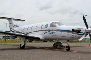 Aviões Pilatus da Azul completam cinco mil horas de voo