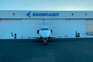 Embraer conclui primeira conversão de Praetor 500 na Europa