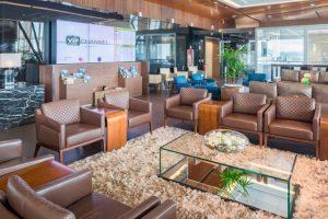 Salas VIP do Aeroporto de Brasília são consideradas mais uma vez altamente recomendadas por usuários Priority Pass