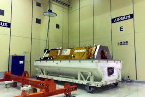 Satélite PAZ inicia sua jornada para o espaço