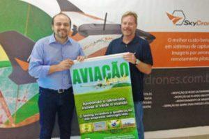 Sindag tem a primeira empresa de drones associada a uma entidade aeroagrícola