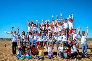 45 crianças participaram de evento de fotografia no Aeroporto de Brasília