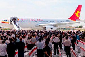 Airbus inaugura Centro de Acabamento e Entrega do A330 na China