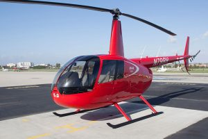 Universidade de Dakota do Norte incorpora um Robinson R44 Cadet Trainer