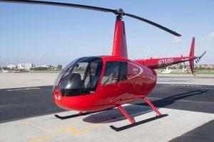 Universidade de Dakota do Norte incorpora um Robinson R44 Cadet Trainer