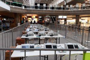 Aeroporto de Brasília tem ponto de justificativa de ausência voto para o segundo turno