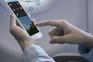 WiFi gratuito para os passageiros da classe executiva da AirEuropa